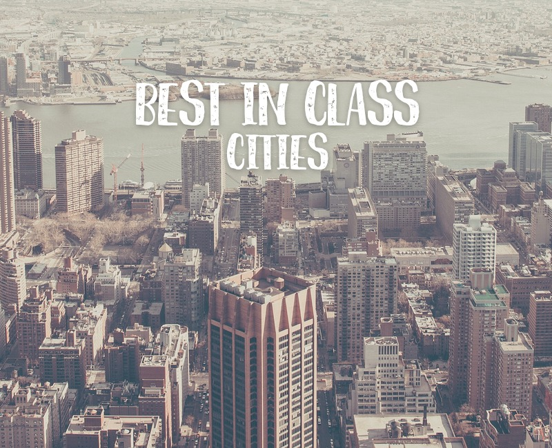 Best in class cities feature